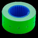 Ценник 22*12мм (500шт, 6м), прямоугольный, внешняя намотка, зеленый (BM.282101-04)