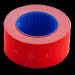 Ценник 22*12мм (500шт, 6м), прямоугольный, внешняя намотка, красный (BM.282101-05)