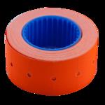 Ценник 22*12мм (500шт, 6м), прямоугольный, внешняя намотка, оранжевый (BM.282101-11)