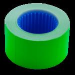 Ценник Buromax 26*16мм (375шт, 6м), прямоугольный, внешняя намотка, зеленый (BM.282103-04)