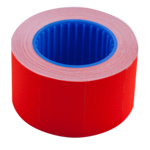 Ценник 26*16мм (375шт, 6м), прямоугольный, внешняя намотка, красный (BM.282103-05)
