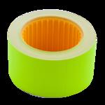 Ценник 30*20мм (300шт, 6м), прямоугольный, внешняя намотка, желтый (BM.282104-08)
