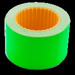 Ценник 35*25мм (240шт, 6м), прямоугольный, внешняя намотка, зеленый (BM.282105-04)