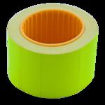 Ценник 35*25мм (240шт, 6м), прямоугольный, внешняя намотка, желтый (BM.282105-08)