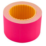 Ценник 35*25мм (240шт, 6м), прямоугольный, внешняя намотка, малиновый (BM.282105-29)