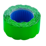 Ценник 22*12мм (500шт, 6м), фигурный, внешняя намотка, зеленый (BM.282201-04)