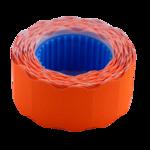 Ценник 22*12мм (500шт, 6м), фигурный, внешняя намотка, оранжевый (BM.282201-11)