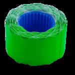 Ценник 26*12мм (500шт, 6м), фигурный, внешняя намотка, зелений (BM.282202-04)