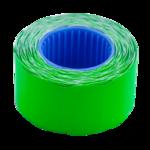 Ценник 26*16мм (375шт, 6м), фигурный, внешняя намотка, зеленый (BM.282203-04)