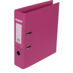 Регистратор Buromax Elite, А4, 70 мм, рычаж. мех, двухстор., розовый (BM.3001-10c)