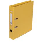 Регистратор Buromax Elite, А4, 50 мм, рычаж. мех, двухстор., желтый (BM.3002-08c)