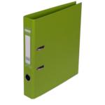 Регистратор Buromax Elite, А4, 50 мм, рычаж. мех, двухстор., светло-зеленый (BM.3002-15c)
