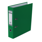Регистратор Buromax Jobmax, А4, 70 мм, рычаж. мех, одностор., зеленый (BM.3011-04c)