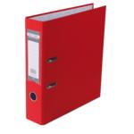 Регистратор Buromax Jobmax, А4, 70 мм, рычаж. мех, одностор., красный (BM.3011-05c)