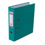 Регистратор Buromax Jobmax, А4, 70 мм, рычаж. мех, одностор., бирюзовый (BM.3011-06c)