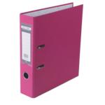 Регистратор Buromax Jobmax, А4, 70 мм, рычаж. мех, одностор., розовый (BM.3011-10c)