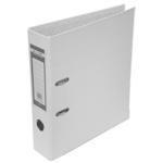 Регистратор Buromax Jobmax, А4, 70 мм, рычаж. мех, одностор., белый (BM.3011-12c)