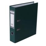Регистратор Buromax Jobmax, А4, 70 мм, рычаж. мех, одностор., темно-зеленый (BM.3011-16c)