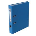 Регистратор Buromax Jobmax, А4, 50 мм, рычаж. мех, одностор., синий (BM.3012-02c)