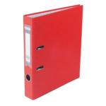 Регистратор Buromax Jobmax, А4, 50 мм, рычаж. мех, одностор., красный (BM.3012-05c)