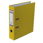 Регистратор Buromax Jobmax, А4, 50 мм, рычаж. мех, одностор., желтый (BM.3012-08c)