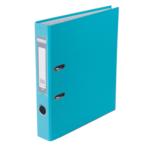Регистратор Buromax Jobmax, А4, 50 мм, рычаж. мех, одностор., голубой (BM.3012-14c)