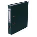 Регистратор Buromax Jobmax, А4, 50 мм, рычаж. мех, одностор., темно-зеленый (BM.3012-16c)