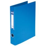 Регистратор Buromax BM.3101-02, А4, 30 мм, кольцевой механ., 2 кольца, синий