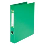 Регистратор Buromax BM.3101-04, А4, 30 мм, кольцевой механ., 2 кольца, зеленый