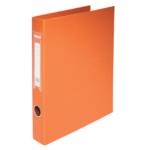 Регистратор Buromax BM.3101-11, А4, 30 мм, кольцевой механ., 2 кольца, оранжевый