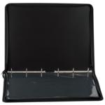Папка-портфель пластиковая Buromax Professional, А2, 6 колец, черный (BM.3190-01)