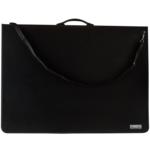 Папка-портфель пластиковая Buromax Professional, А1, 9 колец, черный (BM.3192-01)