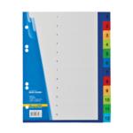 Цифровой индекс-разделитель для регистраторов Buromax, А5, 12 позиций (BM.3213)