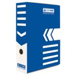 Бокс для архивации документов Buromax, 80 мм, синий (BM.3260-02)