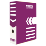 Бокс для архивации документов Buromax, 80 мм, фиолетовый (BM.3260-07)