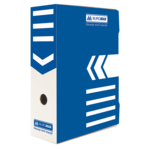 Бокс для архивации документов Buromax, 100 мм, синий (BM.3261-02)