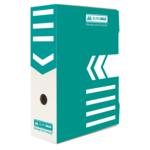 Бокс для архивации документов Buromax, 100 мм, бирюзовый (BM.3261-06)