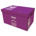 Короб для архивных боксов Buromax, фиолетовый (BM.3270-07)