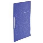Скоросшиватель пластиковый Buromax Barocco, А4, поворт. прижим, фиолетовый (BM.3303-07)