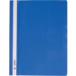 Скоросшиватель пластиковый Buromax, А4, PP, синий (BM.3311-02)
