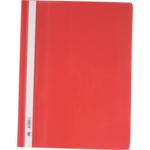 Скоросшиватель пластиковый Buromax, А4, PP, красный (BM.3311-05)