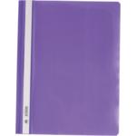 Скоросшиватель пластиковый Buromax, А4, PP, фиолетовый (BM.3311-07)