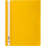 Скоросшиватель пластиковый Buromax, А4, PP, желтый (BM.3311-08)