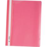 Скоросшиватель пластиковый Buromax, А4, PP, розовый (BM.3311-10)