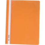 Скоросшиватель пластиковый Buromax, А4, PP, оранжевый (BM.3311-11)