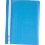 Скоросшиватель пластиковый Buromax, А4, PP, голубой (BM.3311-14)