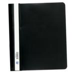 Скоросшиватель пластиковый Buromax, А5, PP, черный (BM.3312-01)
