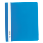 Скоросшиватель пластиковый Buromax, А5, PP, синий (BM.3312-02)