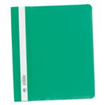 Скоросшиватель пластиковый Buromax, А5, PP, зеленый (BM.3312-04)