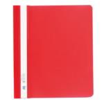 Скоросшиватель пластиковый Buromax, А5, PP, красный (BM.3312-05)